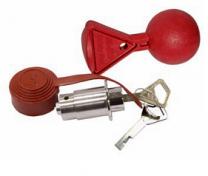 AL-KO Cilinderslot Plus met Safety-Ball voor AL-KO kogelkoppeling PROFI V type AK 301/ 351 1222692