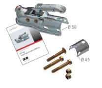 Kogelkoppeling AK 160 uitv/ ausf B tot 1600kg rond 50-45 mm 1222737