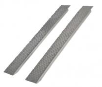 Oprijplaten aluminium recht