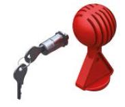AL-KO Cilinderslot met Safety-Ball voor AL-KO kogelkoppeling AK161/270 1730411