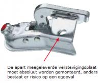 Kogelkoppeling AK 750 uitv/ ausf A tot 750kg V-dissel 242982