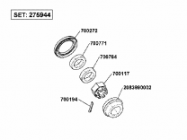 AL-KO Compact Lagerset 1000/1300KG 275944