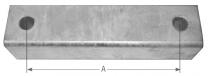 AL-KO Afstandhouder Oplooprem 40mm 150 V/200 V 1335048
